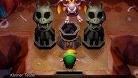 Zelda - Link's Awakening: Kleinen Teufel finden und mehr tragen können