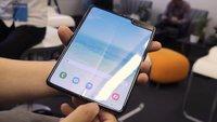 Samsung Galaxy Fold 5G im Hands-On-Video: Faltbar und haltbar?