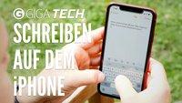 Schneller schreiben auf dem iPhone – Tipps