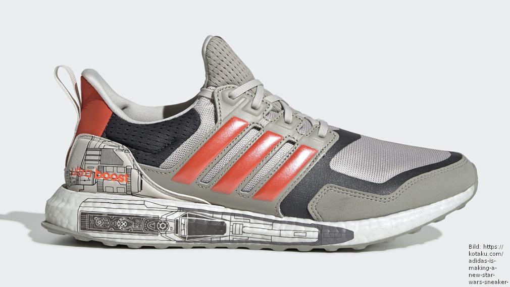 Star Wars: Adidas macht einen X Wing Sneaker und unterstützt