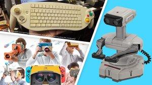 Vom NES bis zur Switch: Die skurrilsten Entwicklungen für Nintendo-Konsolen