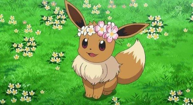 Pokémon GO: So kommst du an das Schillernde Evoli mit Blumenkranz!