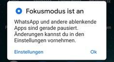 Android 10: So funktioniert der Focus Mode