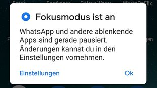 Android 10: So funktioniert der Focus Mode