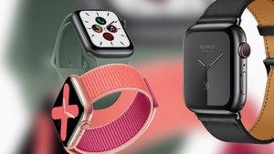 Apple Watch Series 5 im Gewichtsvergleich: Smartwatch-Modelle auf der Waage