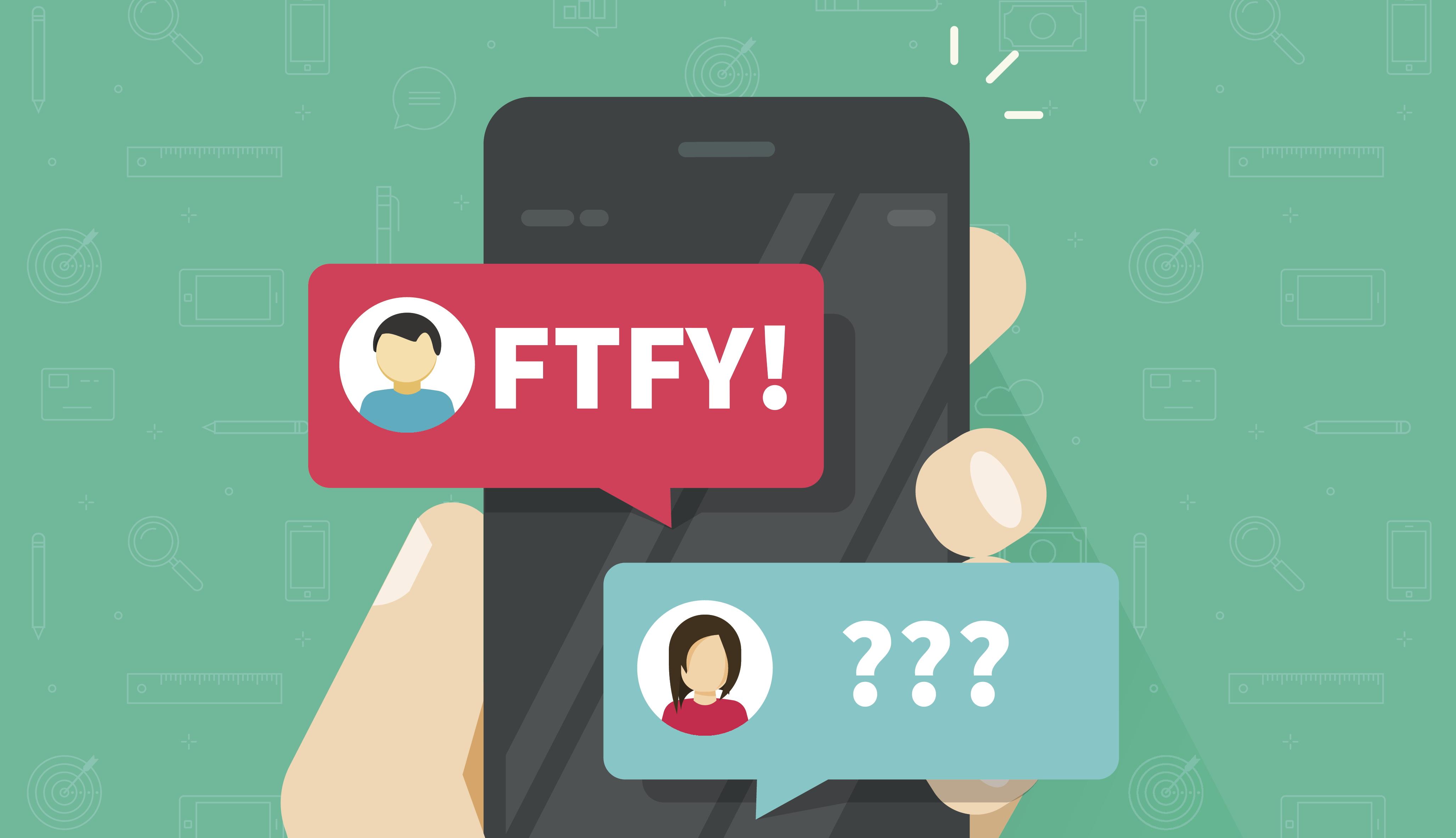 """""""FTFY"""": Bedeutung & Übersetzung der Abkürzung"""