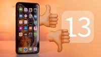 Welche Probleme bereitet iOS 13 auf deinem iPhone?