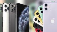 iPhone 11, 11 Pro und Pro Max: Technische Daten der Apple-Smartphones im Vergleich
