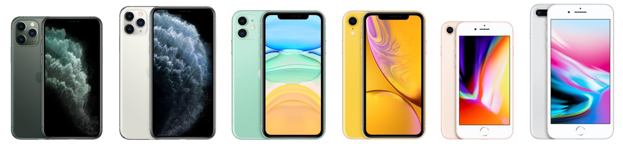 iphone 8 xs größenvergleich