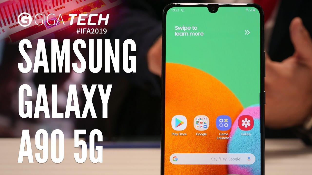 Samsung Galaxy A90 5g Vorgestellt Das Günstigere Und Bessere Galaxy S10