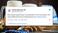 Oktoberfest 2019: So twittert die Polizei München von den Wiesn