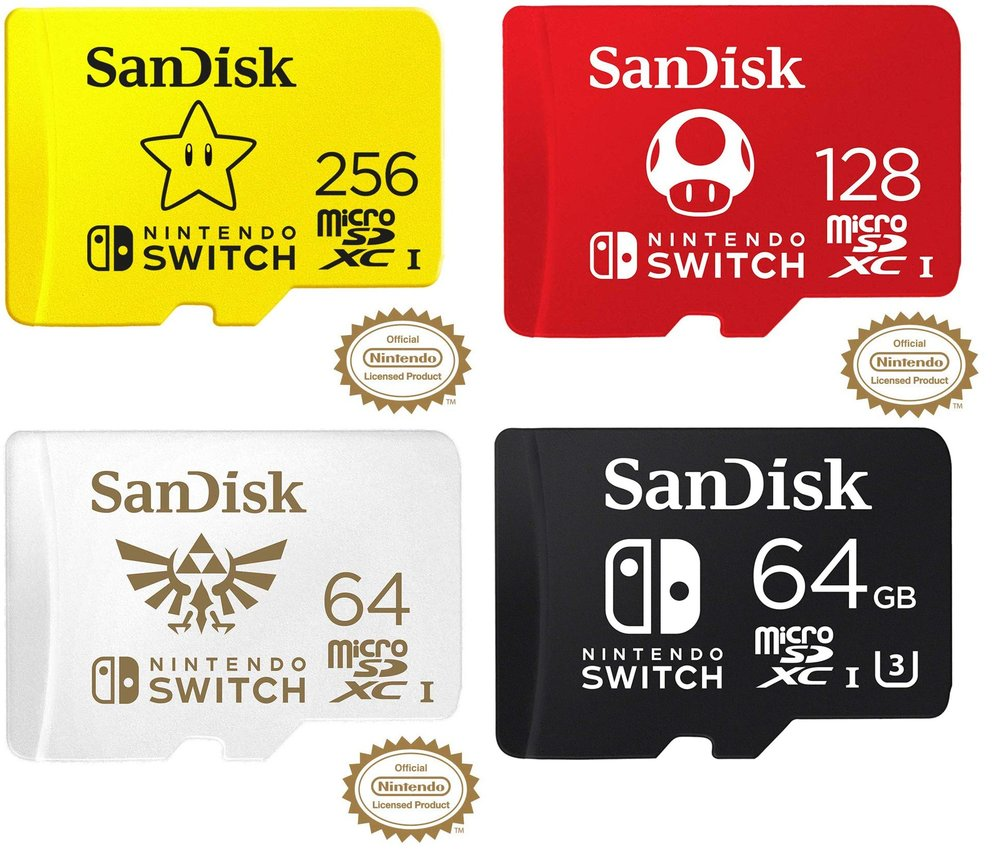 switch micro sd card
