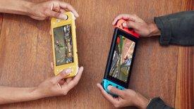 Die Nintendo Switch Lite im Hands-On