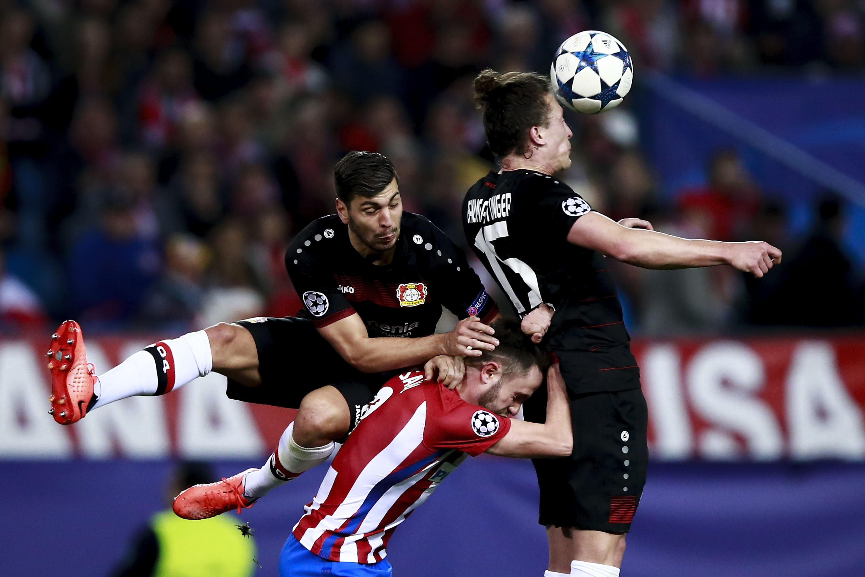 Fussball Heute Atletico Madrid Bayer 04 Leverkusen