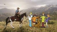 Red Dead Online trifft auf Scooby-Doo - Fan stellt die Figuren der Zeichentrickserie nach