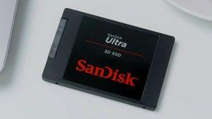 Interne SSD mit 2 TB bei Saturn zum Bestpreis: SanDisk Ultra 3D extrem reduziert