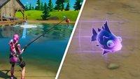 Fortnite: Angeln finden und fischen - so gehts