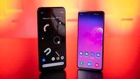 Google Pixel 4 und Samsung Galaxy S10 im Vergleich: Kampf der Handy-Könige
