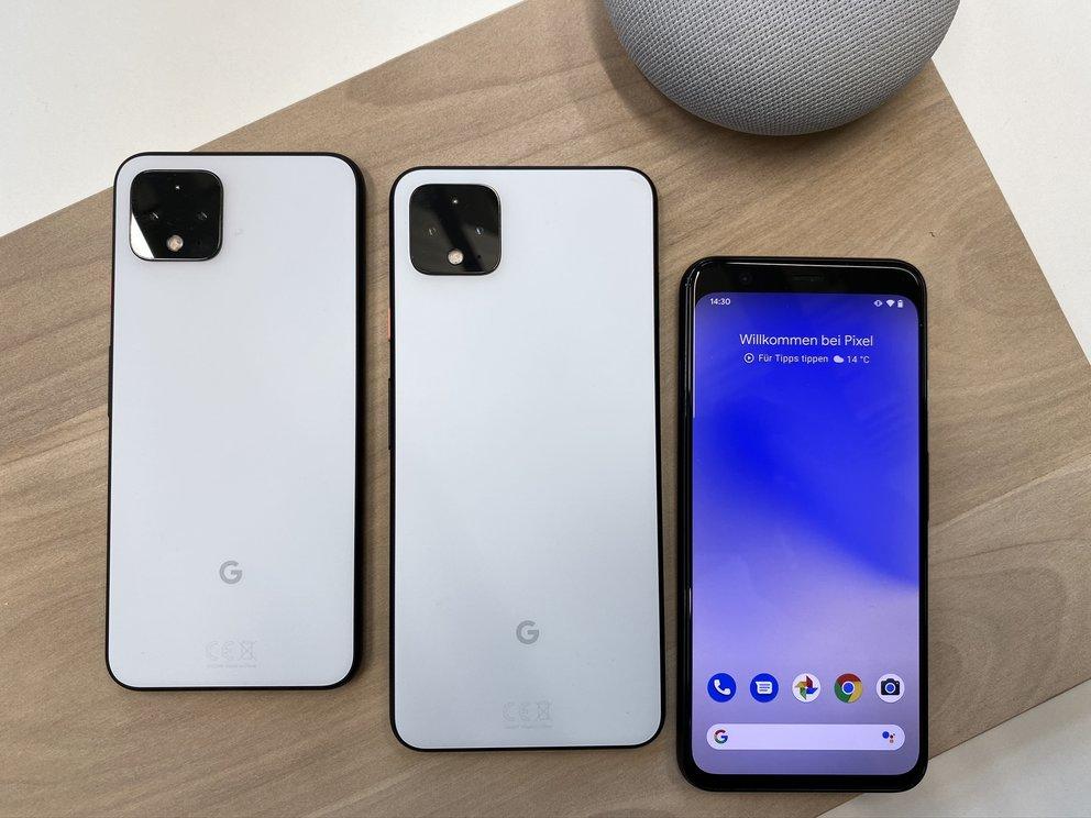 Google Pixel 4 & Pixel 4 XL im Vergleich: Unterschiede der Smartphones