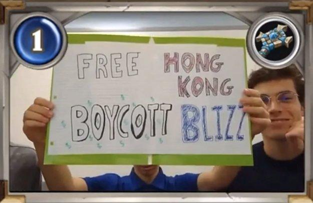 Blizzard sperrt drei weitere Hearthstone-Spieler für die Untersützung der Hongkong-Proteste