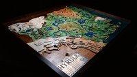 Zelda-Fan baut eine gigantische hölzerne Hyrule-Karte