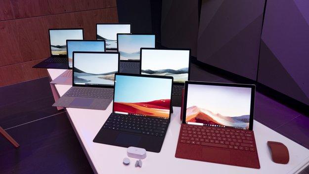 Surface Pro 7, Pro X und Laptop 3 im Hands-On-Video: Microsoft geht neue Wege