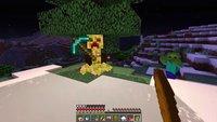 Minecraft durchspielen ohne selbst einen Block abzubauen? Das geht!