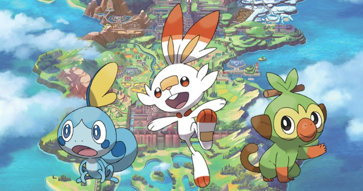 Pokemon schwert legendäres pokemon