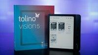 E-Book-Reader Tolino Vision 5 im Test: Top-Gerät dank Top-Ausstattung?