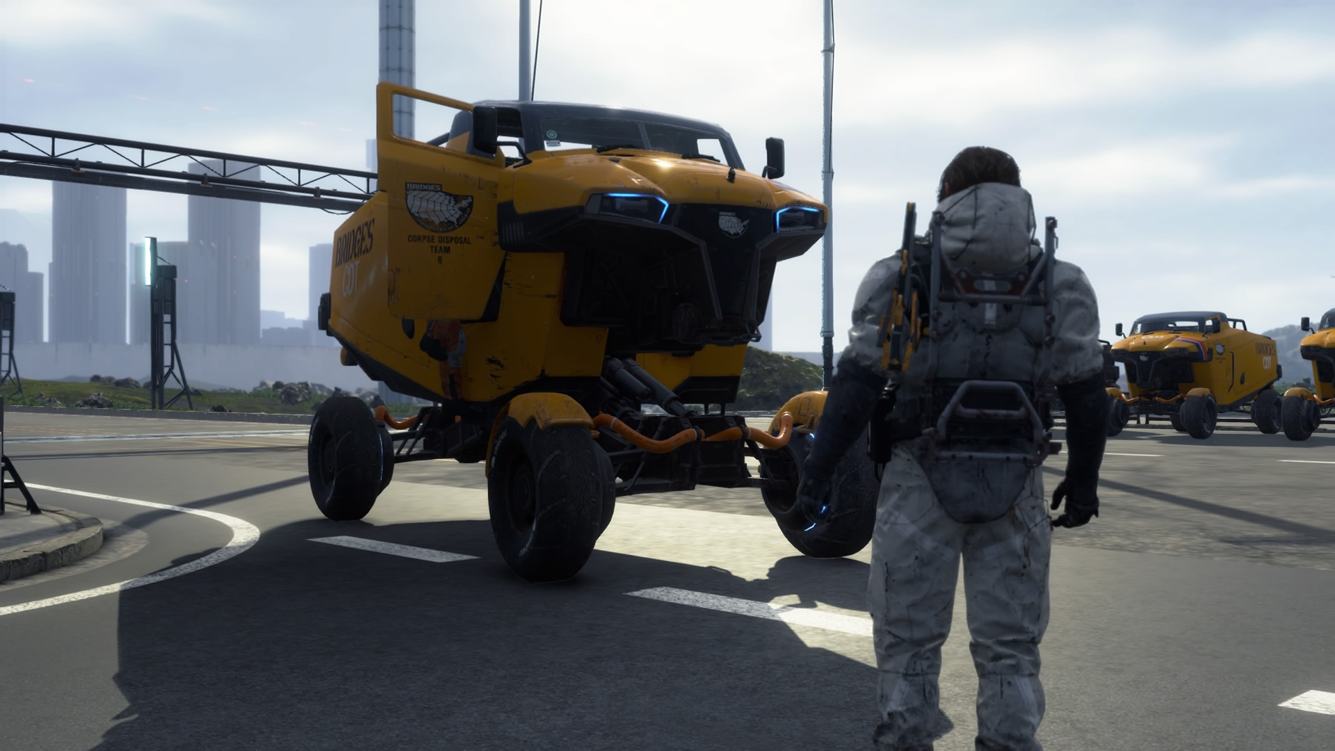 Image result for death stranding truck