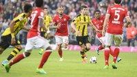 Fußball heute: Borussia Dortmund – FC Bayern München im Live-Stream & TV – Bundesliga