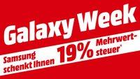 Letzte Chance: Mehrwertsteuer-Aktion bei MediaMarkt & Saturn für Samsung-Produkte (abgelaufen)