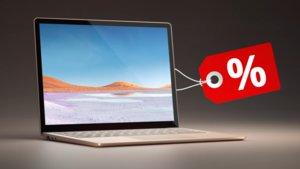 Surface Laptop 3 im Preisverfall: Home-Office-Notebook bei Amazon stark reduziert