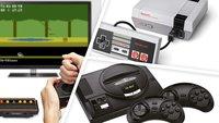 NES Classic, SEGA MegaDrive und mehr: Bis zu 79 Prozent Rabatt auf Retro-Konsolen