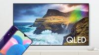 Bei Saturn: Samsung-QLED-TV kaufen und Galaxy-Smartphone kostenlos erhalten
