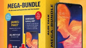 Ab heute bei Aldi: Samsung-Handy mit Prepaid-Jahreskarte zum Hammerpreis