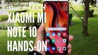Xiaomi Mi Note 10 im Hands-On: Günstiges China-Handy mit 108-MP-Kamera