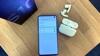 AirPods Pro mit Android-Handy: Geht das – mit Samsung Galaxy S10?