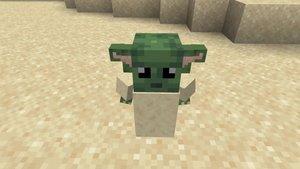 Baby Yoda und seine Macht sind jetzt auch in Minecraft zu finden