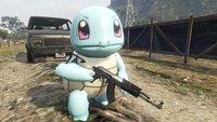 Pokémon-Gang in GTA 5: Schiggy und Co. mischen Los Santos auf