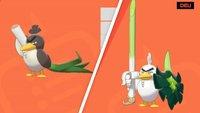 Pokémon Schwert & Schild: So könnt ihr Porenta zu Lauchzelot entwickeln