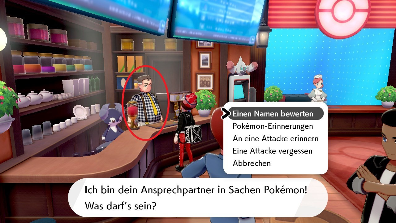 Pokemon mit namen deutsch
