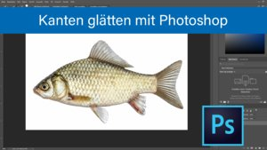 Photoshop: Kanten glätten – so geht's