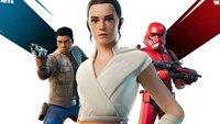 Fortnite trifft Star Wars Episode 9 – spielt als Rey, Finn und Sith Trooper
