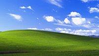 Das Hintergrundbild von Windows XP – so ist es entstanden