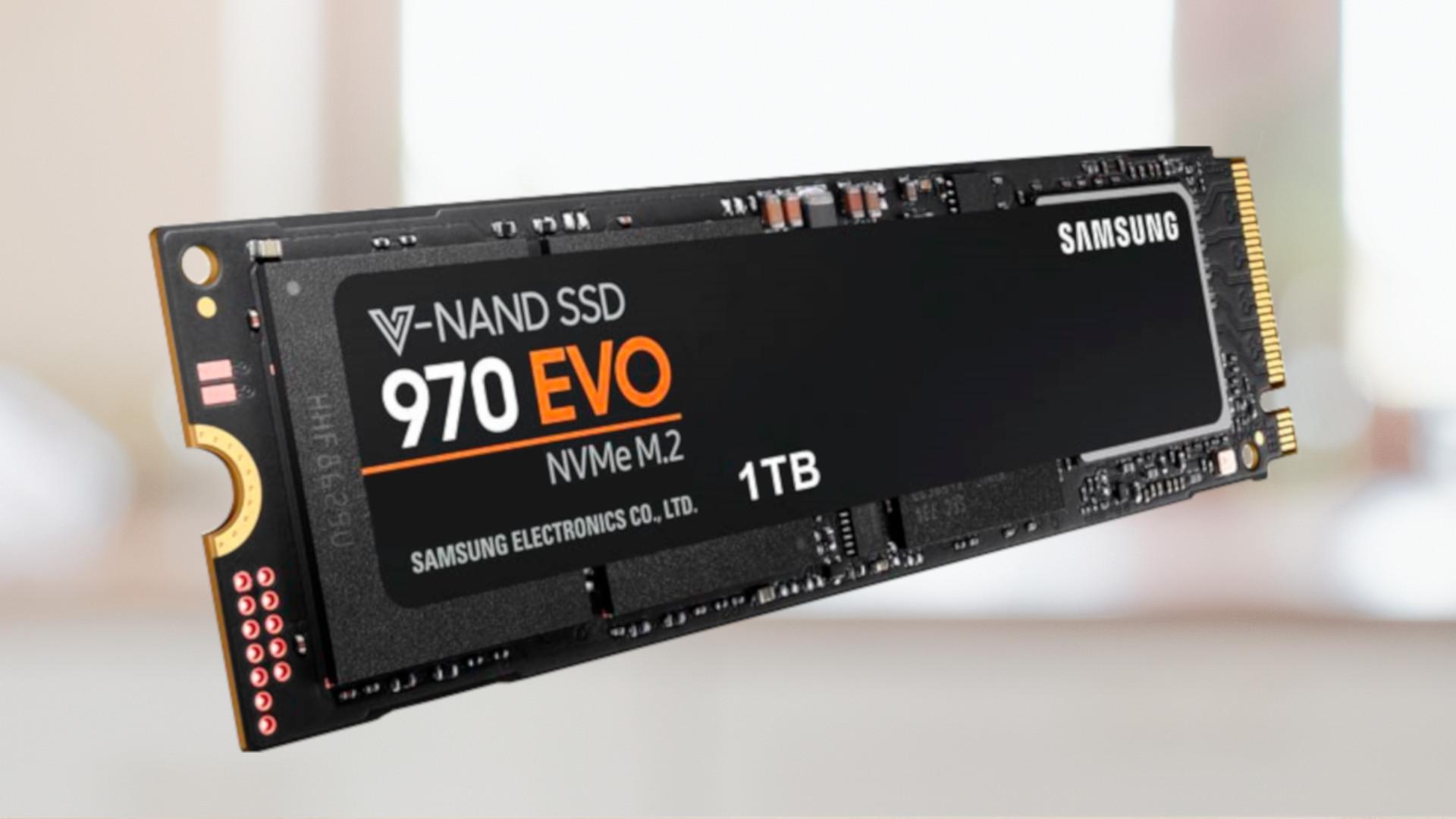 Samsung 970 EVO im Preisverfall: Schnelle SSD mit viel Speicher zum Sparpreis