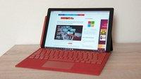 Surface Pro 7: Bestes Windows-Tablet aktuell besonders günstig kaufen