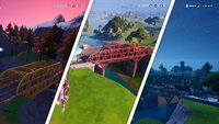 Fortnite: Violette, Rote, Blaue, Gelbe und Grüne Stahlbrücke - Fundorte
