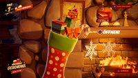 Fortnite: Weihnachtsstrümpfe in der Winterfesthütte - Fundort