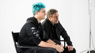 Ninja streamt mit Star-Wars-Ikone Mark Hamill Fortnite